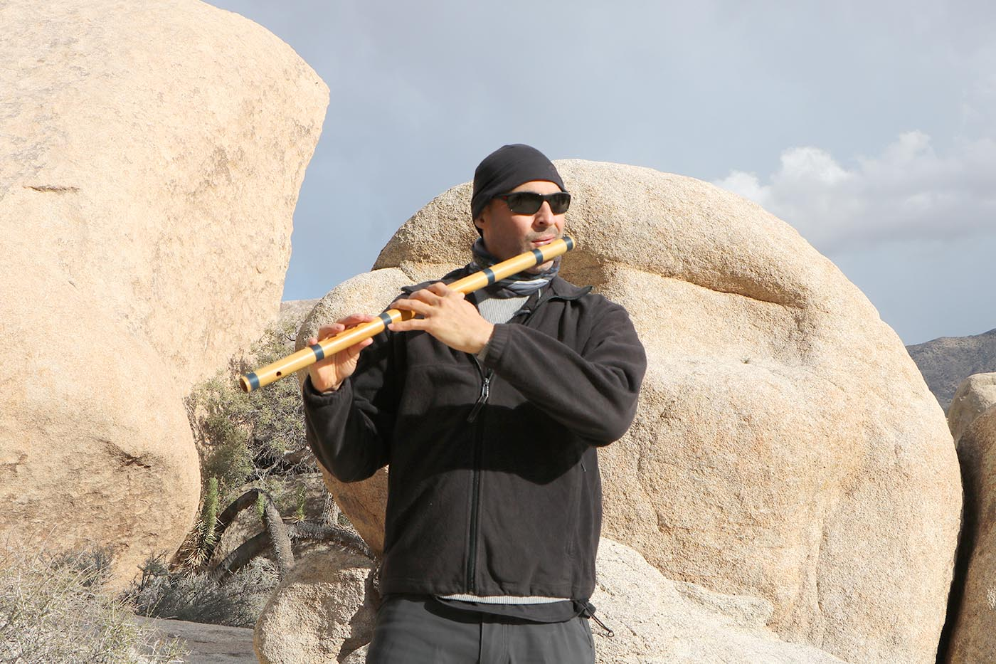 Flute Joshua Tree National Park Kerry Kriger Bansuri