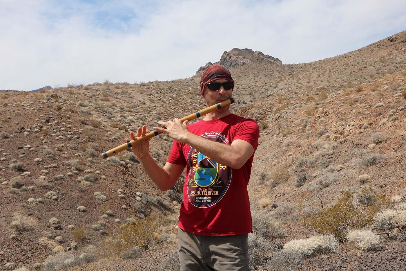 Death Valley California Bansuri Kerry Kriger