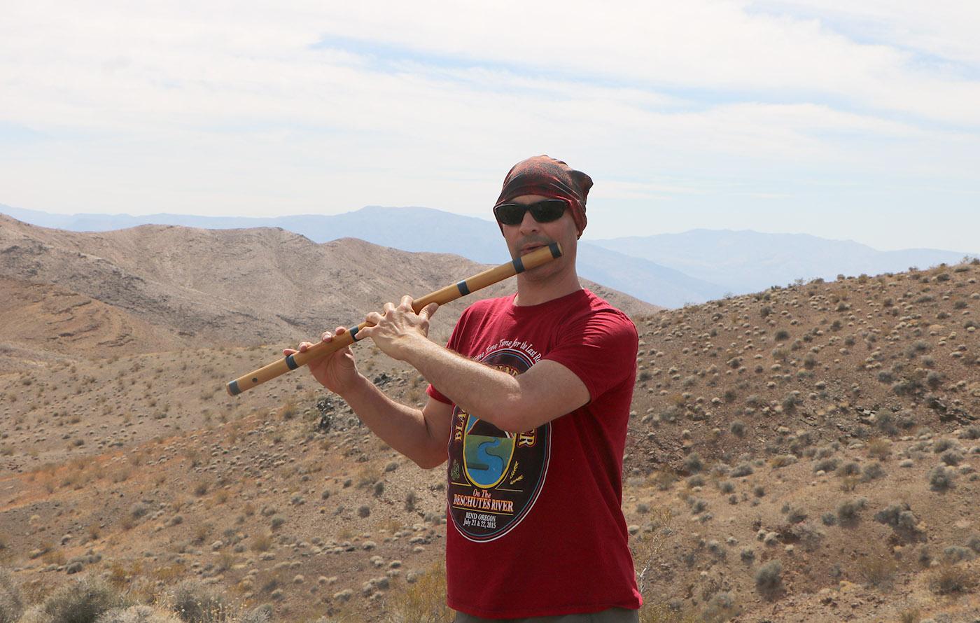 Death Valley California Bansuri Instructor Kerry Kriger Music