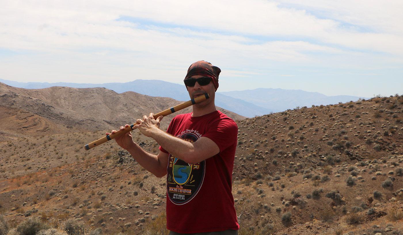 Death Valley National Park Desert Flute Kerry Kriger