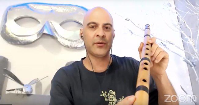 Kerry Kriger Bansuri Flute Vachaspati