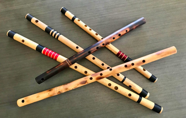 Bansuri Instruction - Allan van Leeuwen