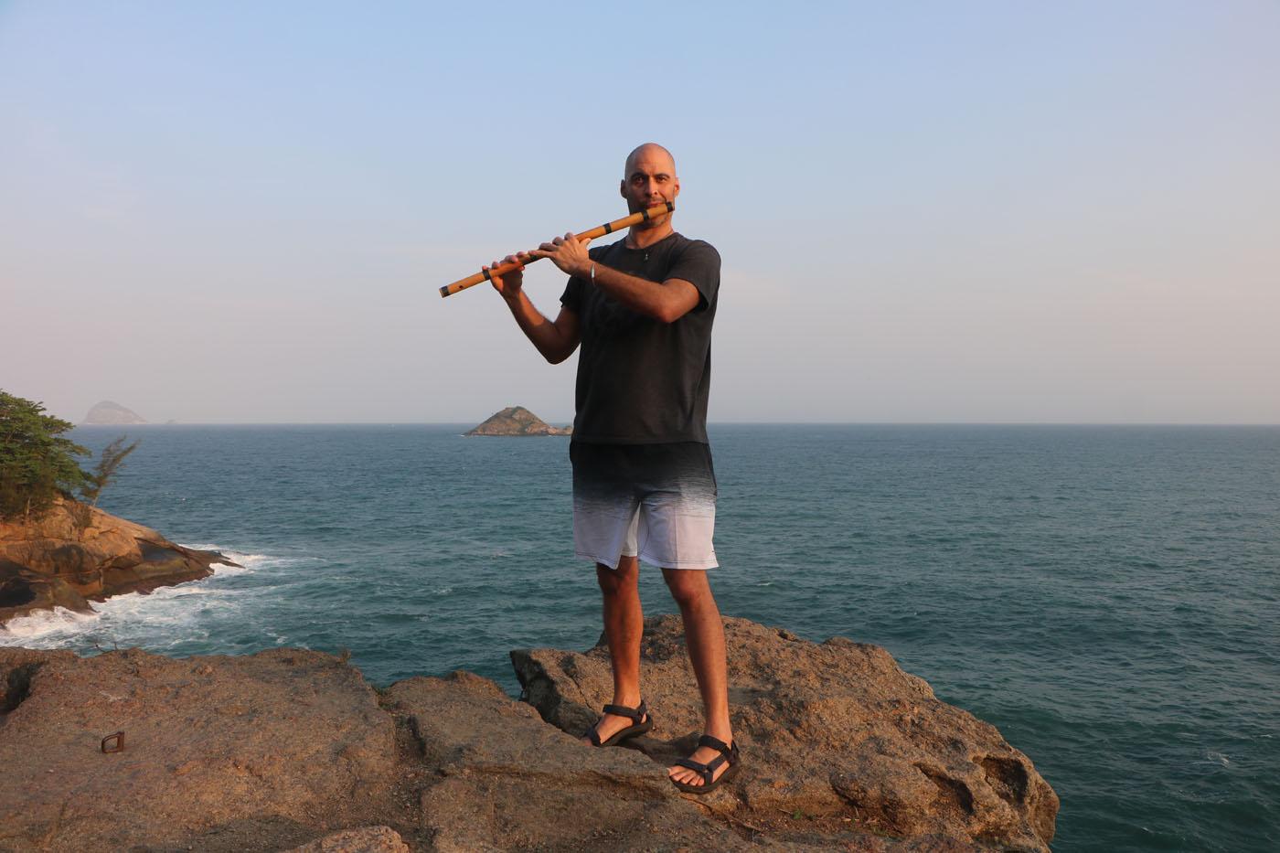 Brazil Joatinga Rio de Janeiro Bansuri Kerry Kriger Ocean