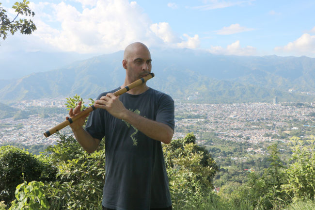 Colombia Ibague Martinica 2021-07-15 Bansuri Kerry Kriger