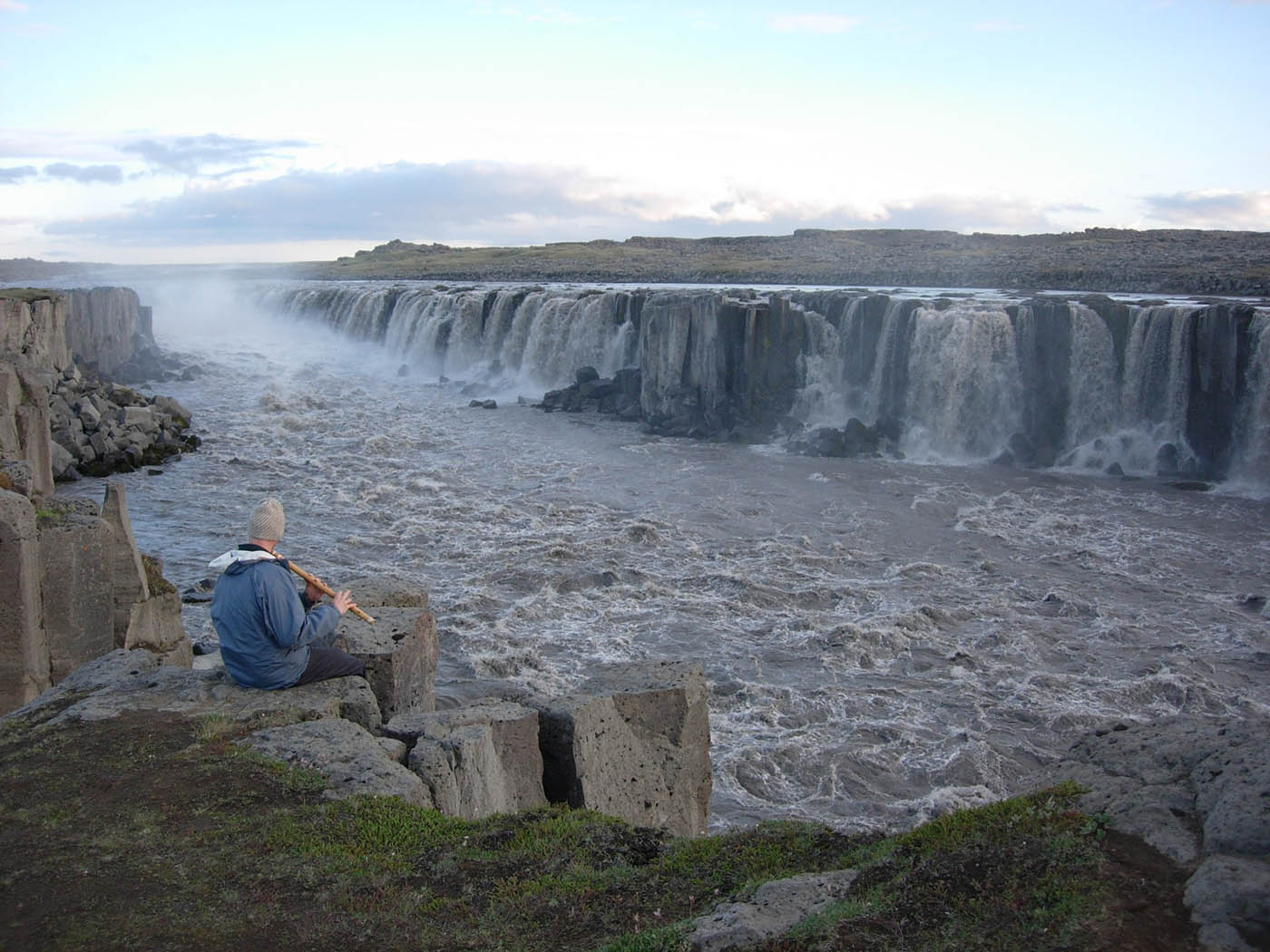 Iceland 2008 Bansuri Kerry Kriger - Flute at Selfoss 1400