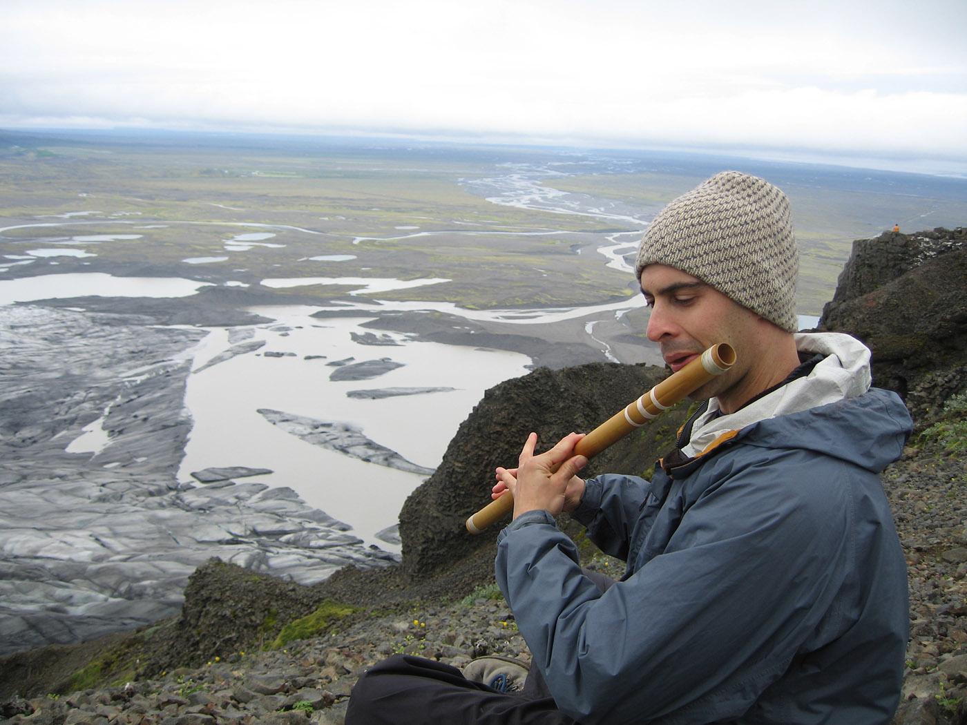 Iceland - Kerry Kriger Bansuri Flute