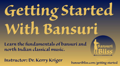 Getting Started With Bansuri