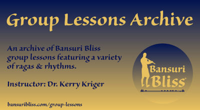 Group Bansuri Lessons