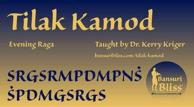 Tilak Kamod raag lessons