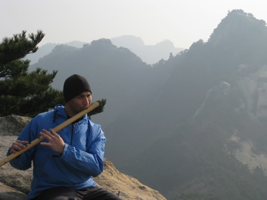 South Korea Bamboo Flute