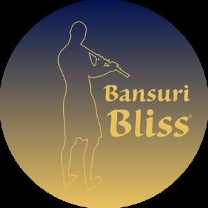 Bansuri Bliss Favicon Silhouette Logo