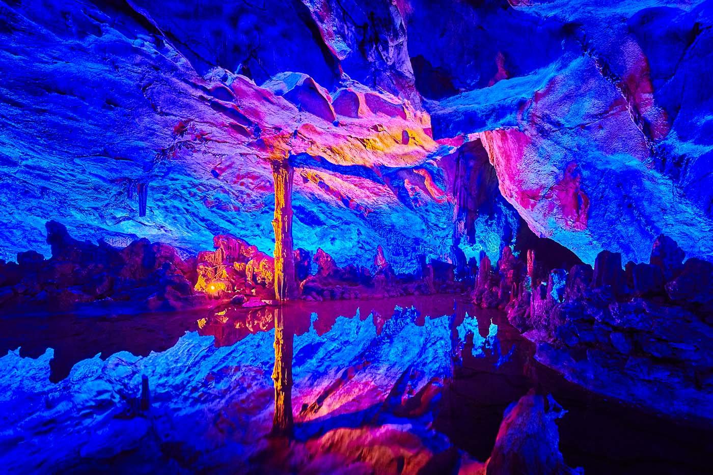 Reed Flute Cave - Guilin Guangxi China