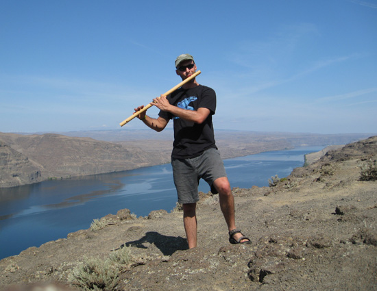 Kerry Kriger Raga Bansuri Columbia River Gorge