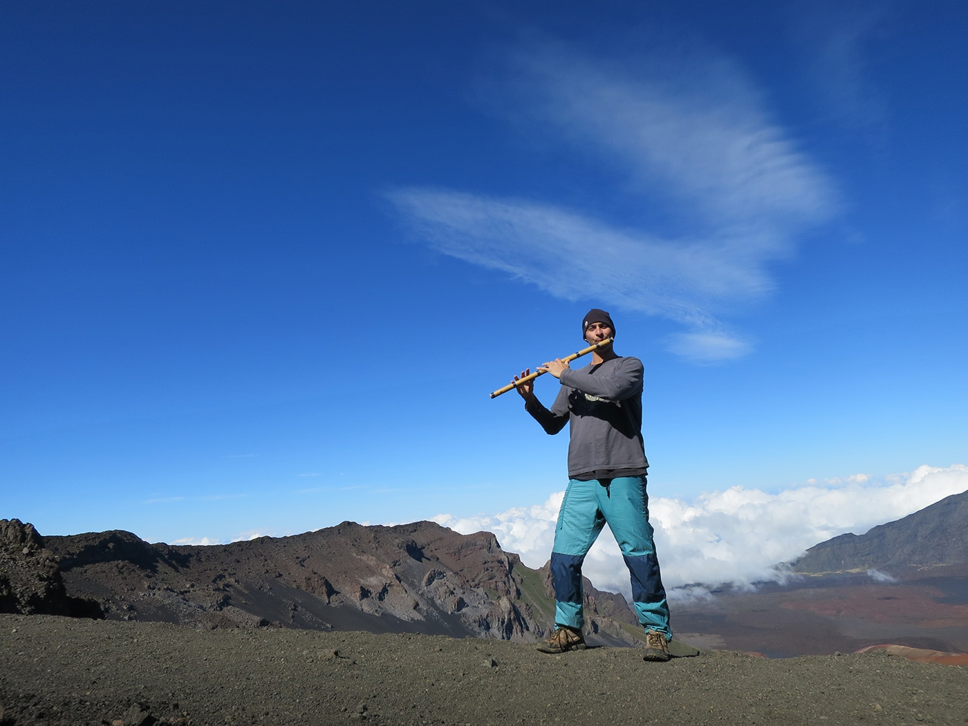 USA Hawaii Maui - Kerry Kriger Haleakala Bansuri 2015 1400