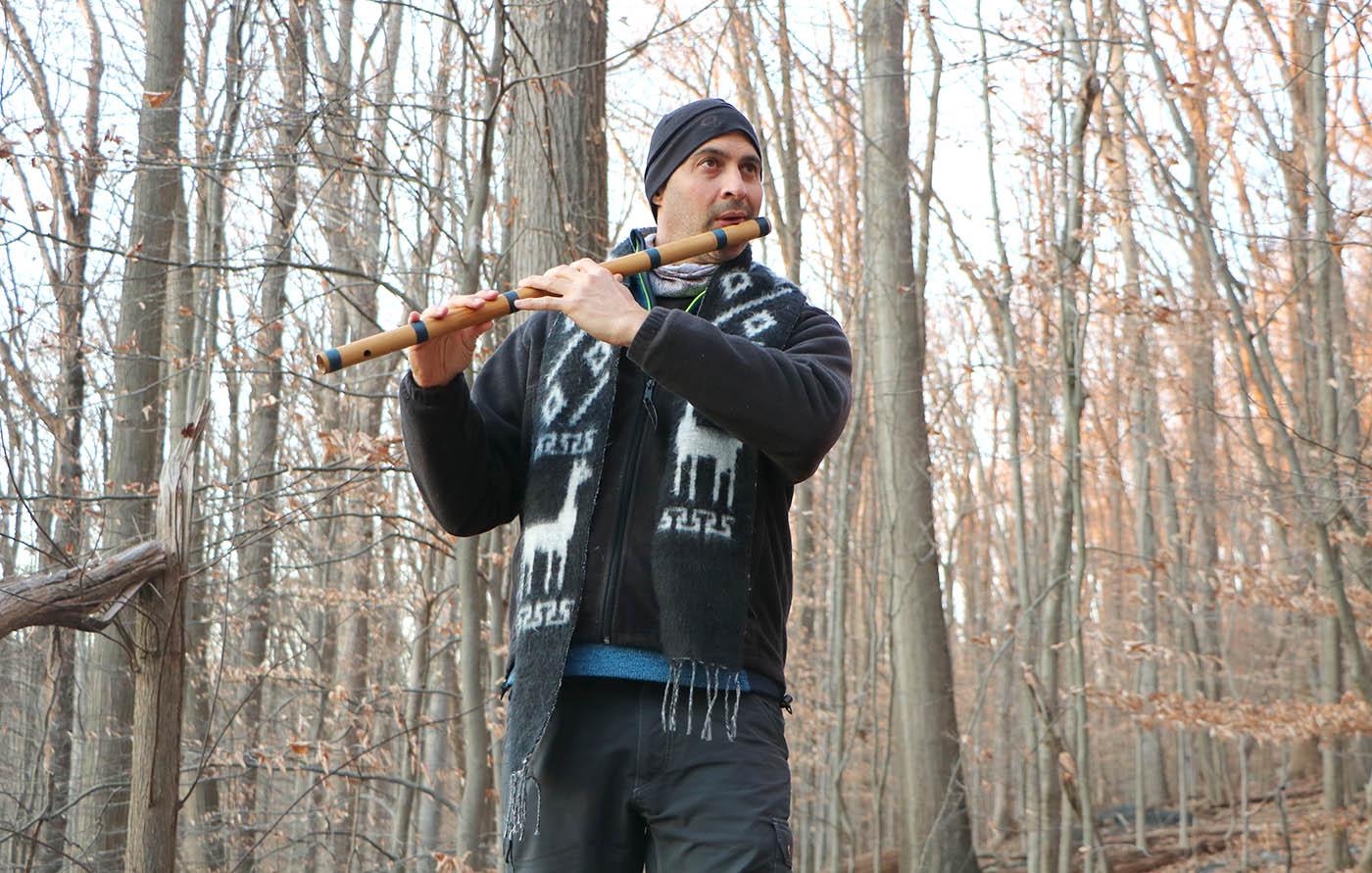 USA MD Appalachian Trail Bansuri Kerry Kriger