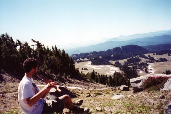 USA Oregon South Sister Bansuri Kerry Kriger 1999 550