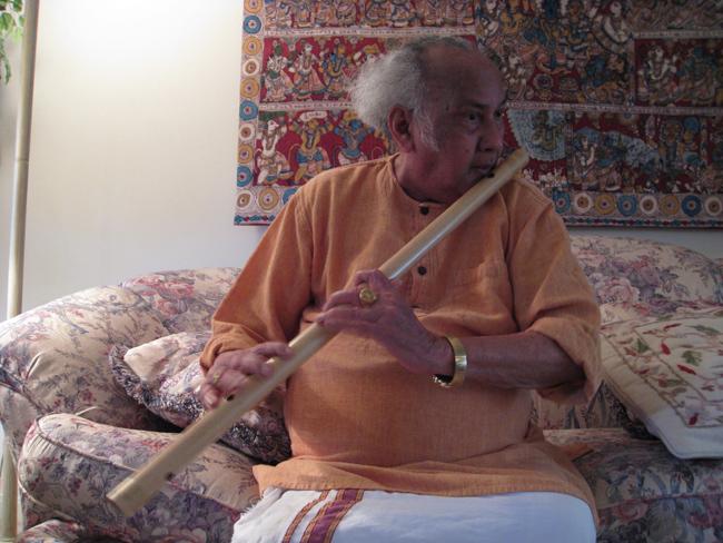 Vijay Raghav Rao bamboo flute India