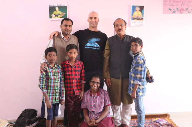 Kerry Kriger Hyderabad India